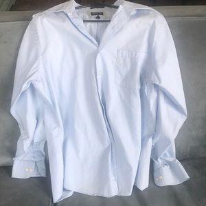 Arrow Fitted Button-Up Dress Men's Shirt 16,34/35